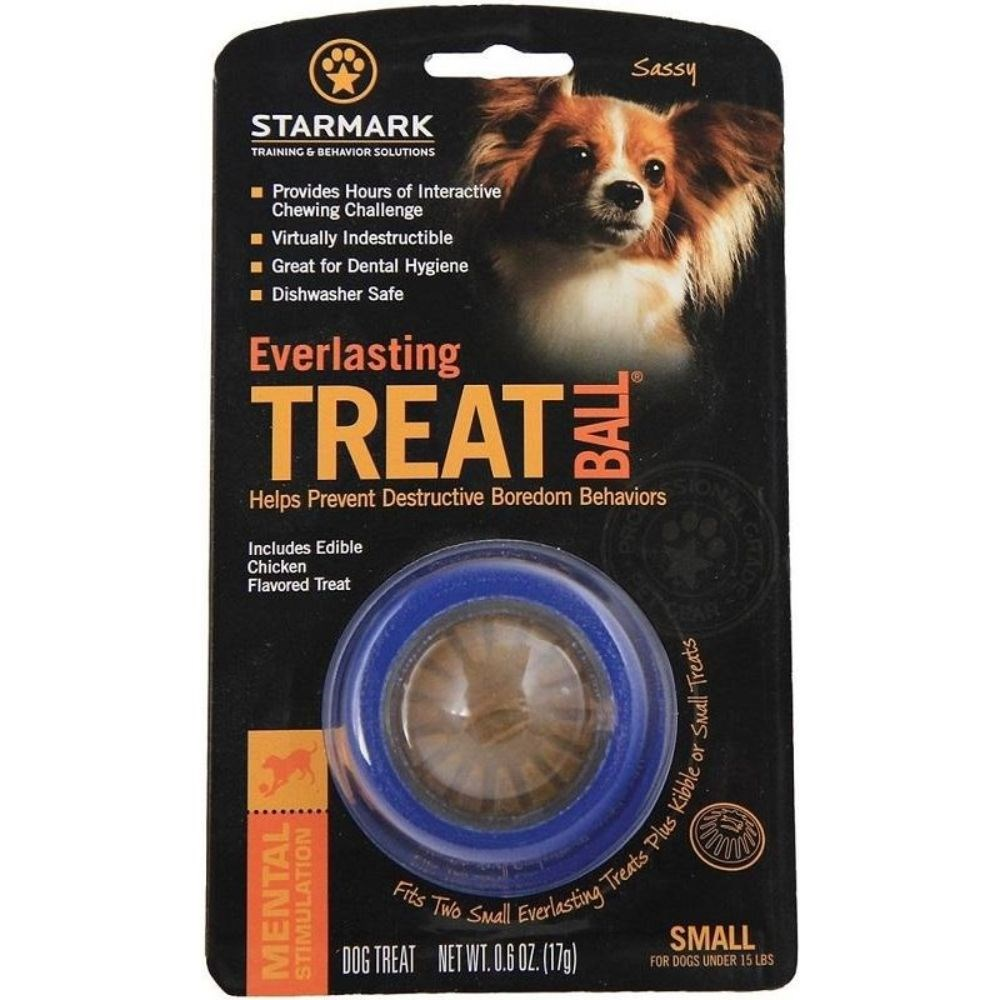 Starmark Everlasting Treat Ball Dog Toy Small