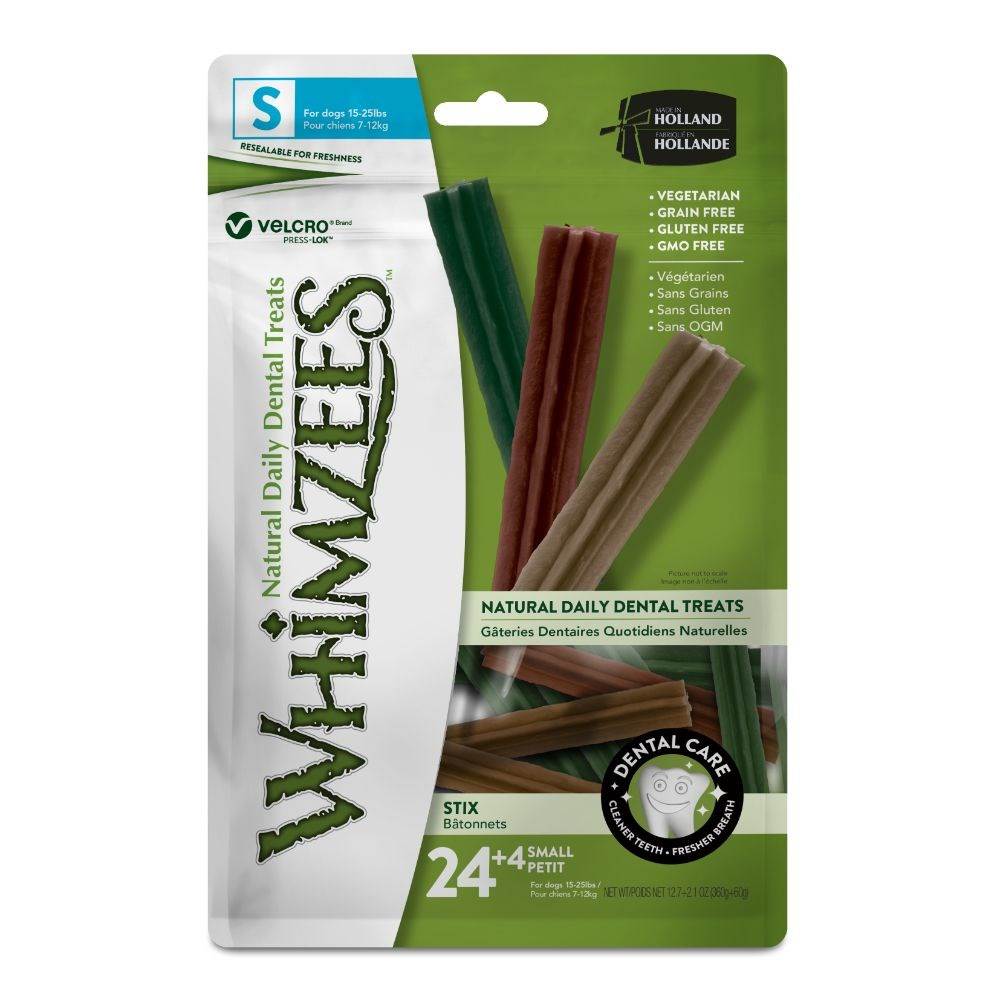 Whimzees Stix Dog Treat Small 28 Pack