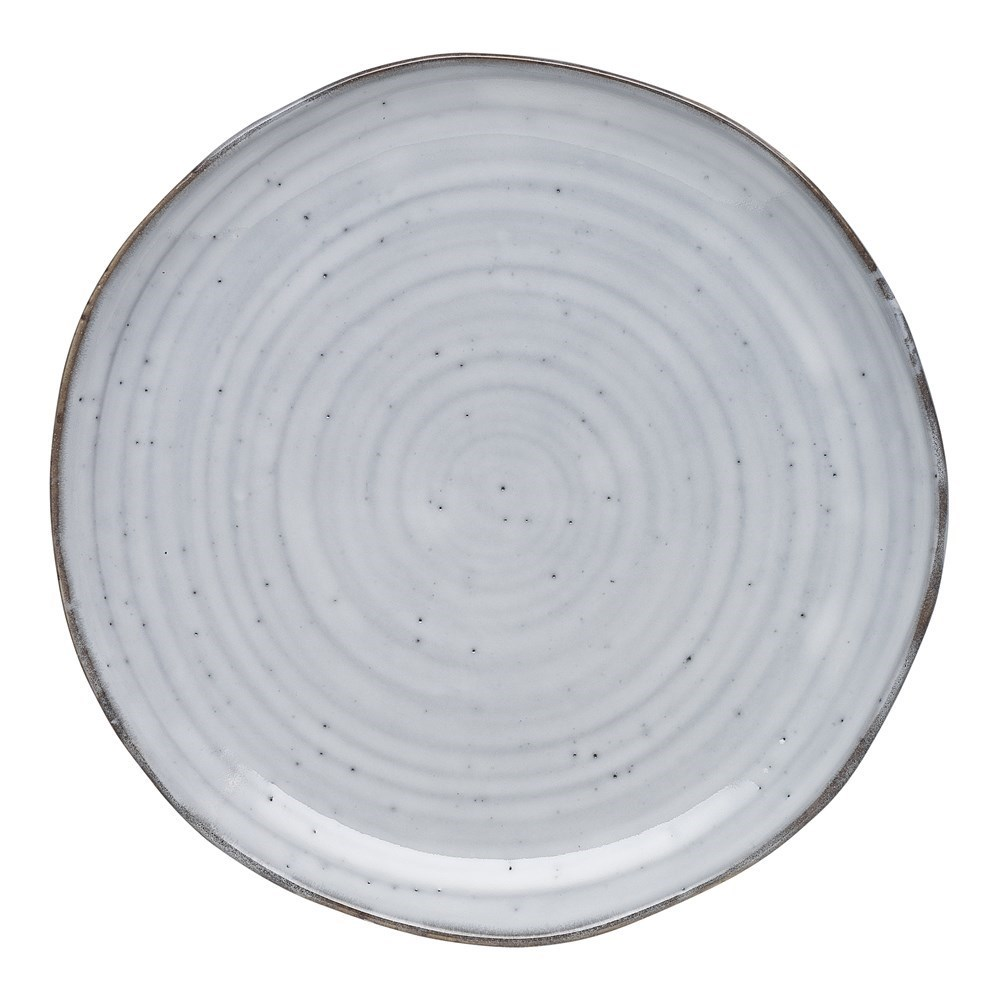 Ecology Ottawa Collection White Orchid Dinner Plate 27.5cm