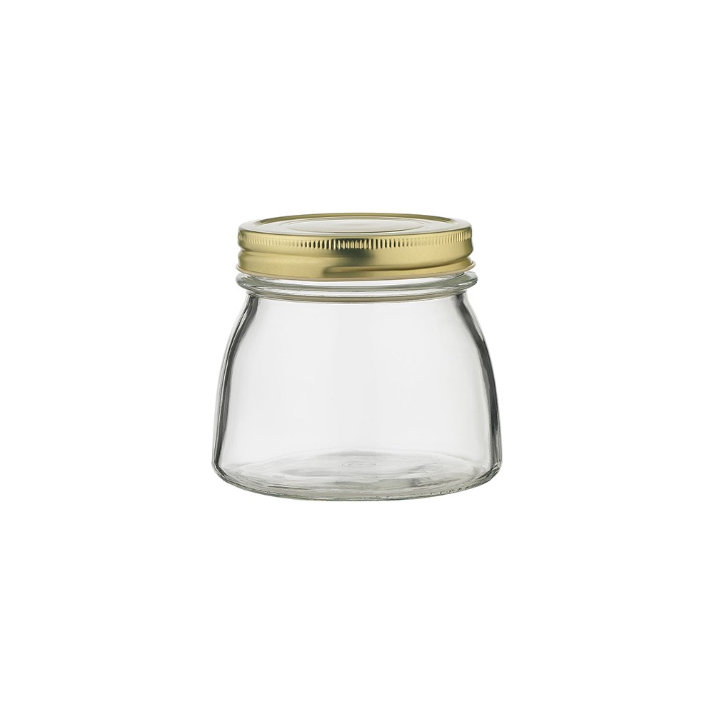 Ecology Source Glass Storage Jar with Lid 500ml