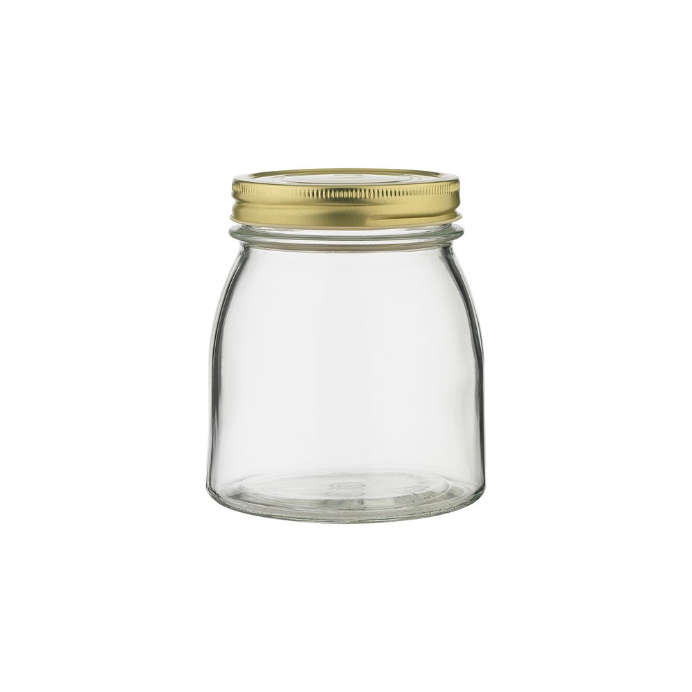 Ecology Source Glass Storage Jar with Lid 750ml