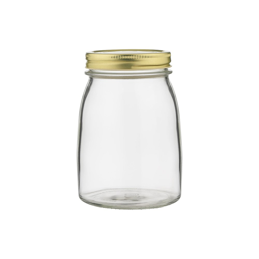 Ecology Source Glass Storage Jar with Lid 1L