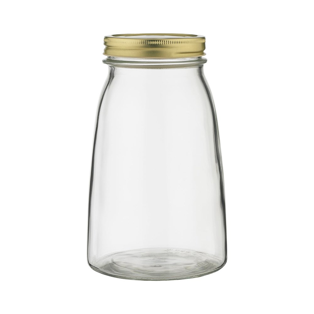 Ecology Source Glass Storage Jar with Lid 1.5L