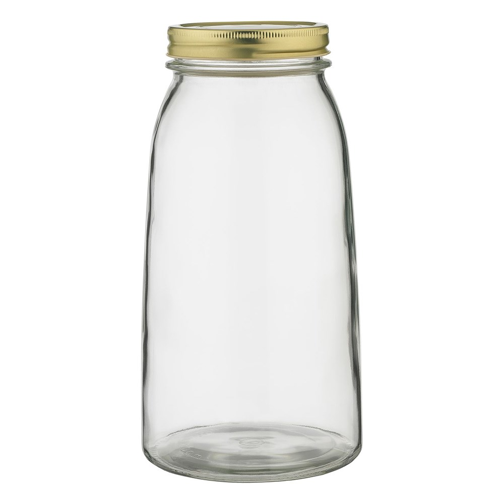 Ecology Source Glass Storage Jar with Lid 2L