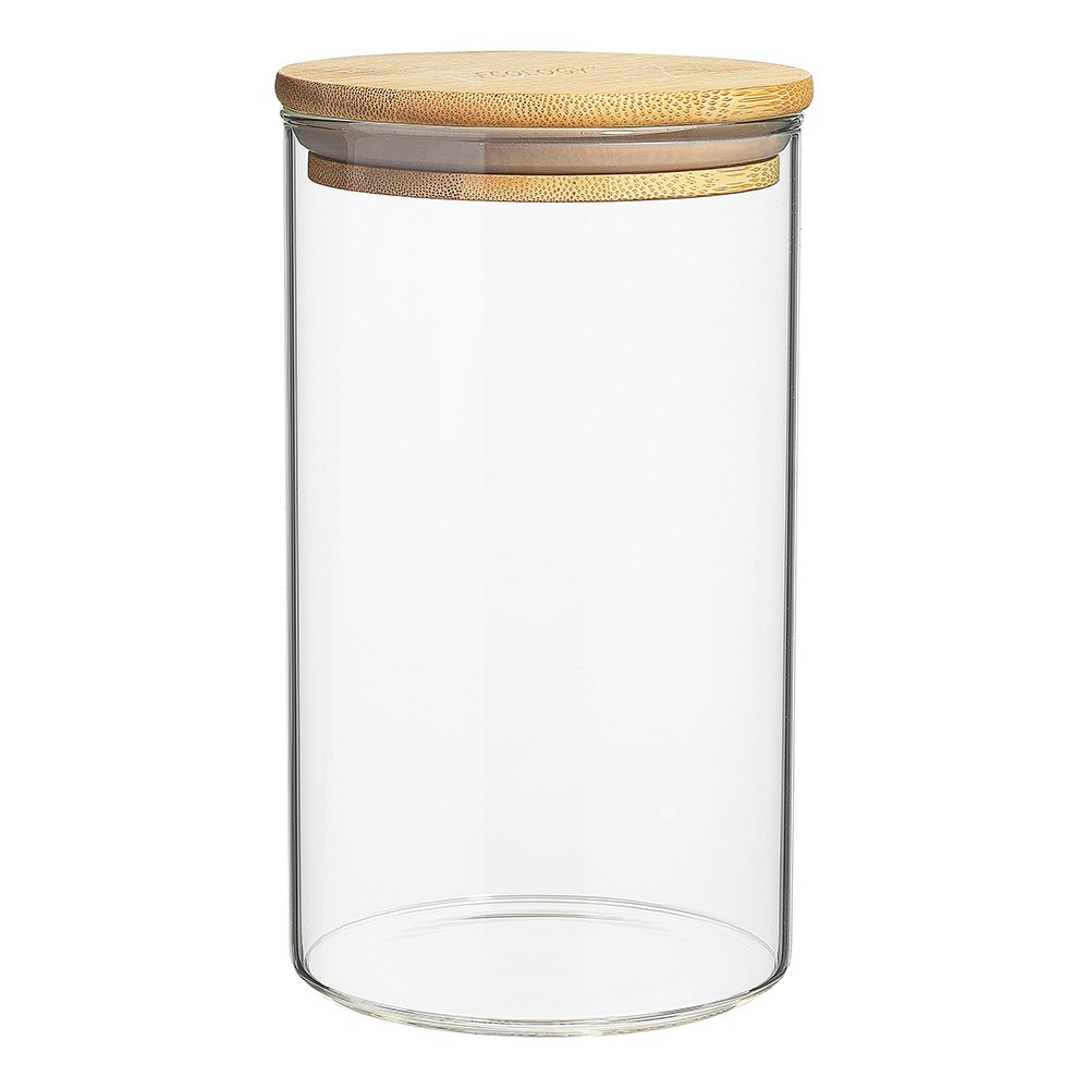 Ecology Pantry Round Glass Canisters 17.5cm Set of 3