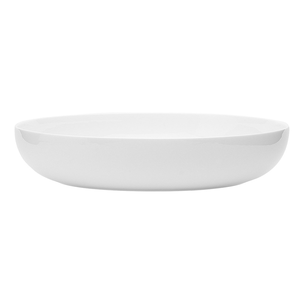 Ecology Canvas Coupe Dinner Bowl 22cm White