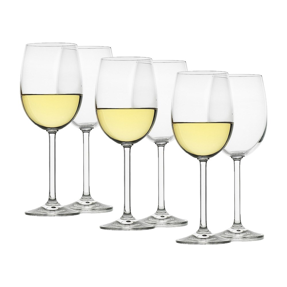 Ecology Classic Crystal White Wine Glass 350ml Set of 6