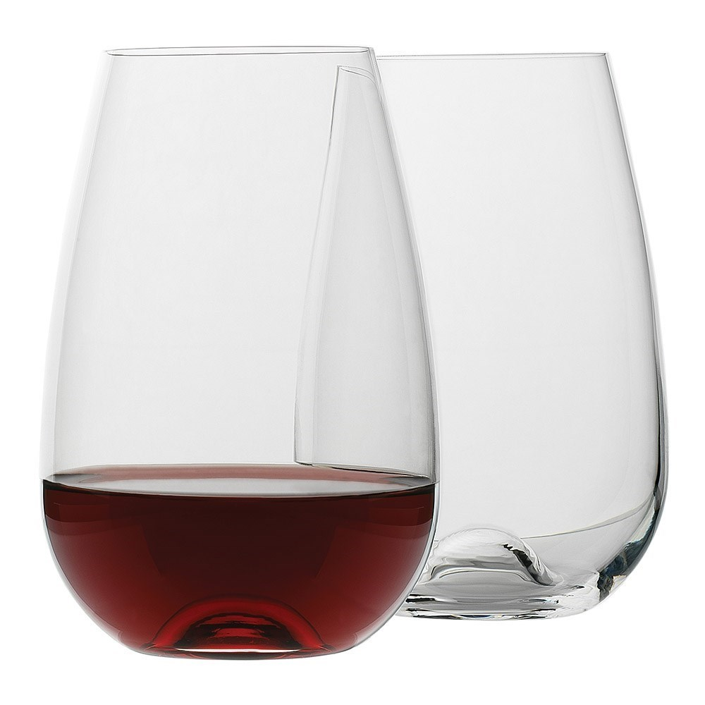 Ecology Crystalline Glass 4 Piece Stemless Red Wine Glass Set 660ml