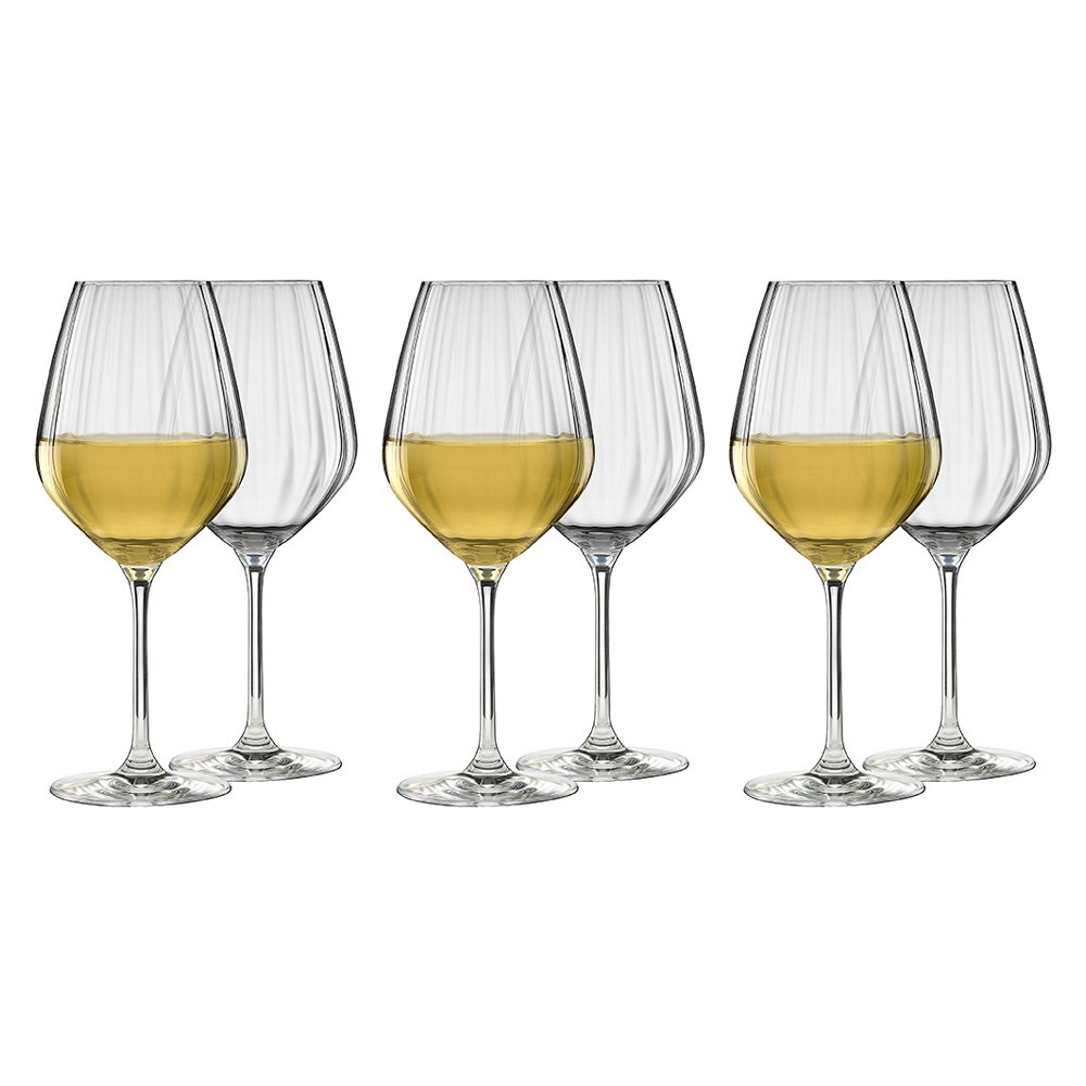 Ecology Twill White Wine Glass Set of 6 430ml