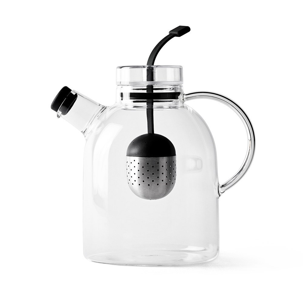 Menu Glass & Stainless Steel Kettle Teapot 1.5L