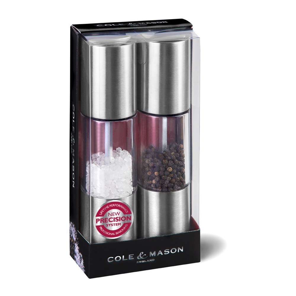 Cole & Mason Oslo Salt and Pepper Mill Gift Set