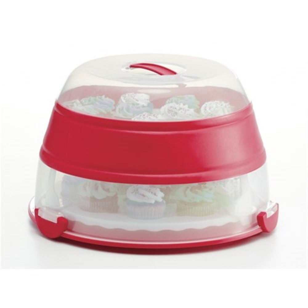 Progressive Prepworks Collapsible Cupcake and Cake Carrier