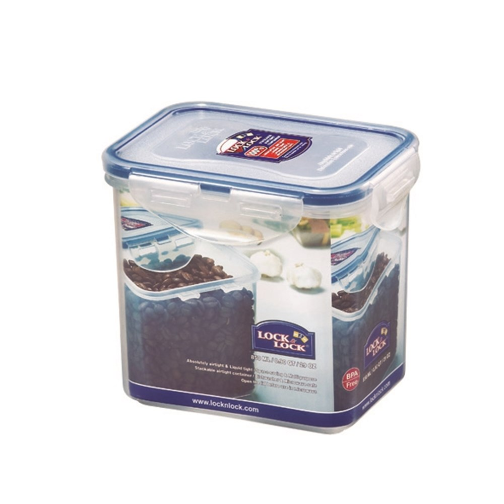 Lock & Lock Classic Tall Rectangular Food Container 850ml