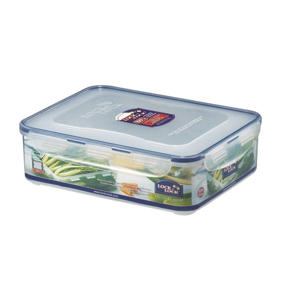 Lock & Lock Classic Short Rectangle Food Container 3.9L