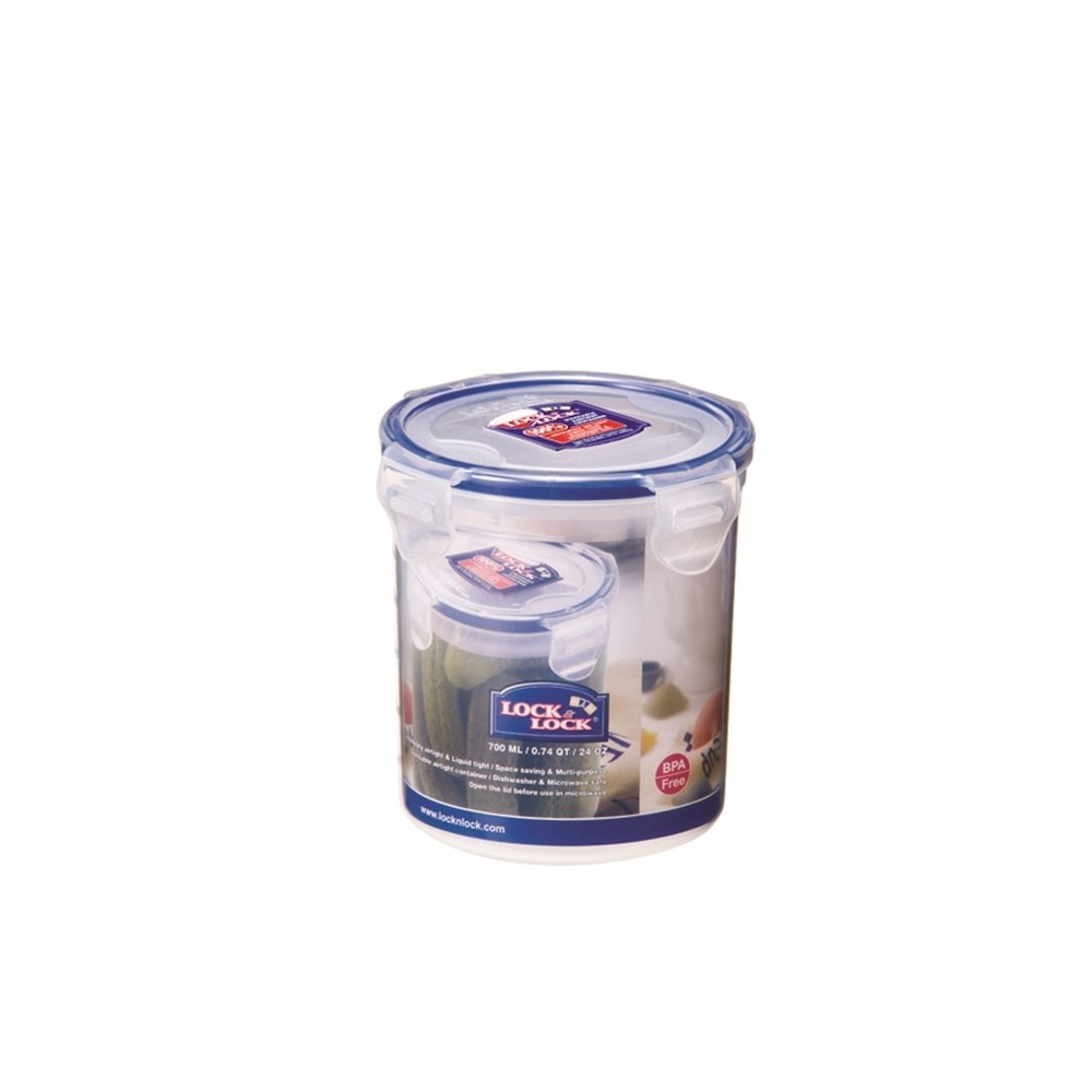 Lock & Lock Classic Tall Round Food Container 700ml