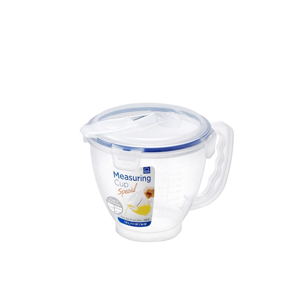 Lock & Lock Special Measuring Cup with Flip Lid - 1.0L