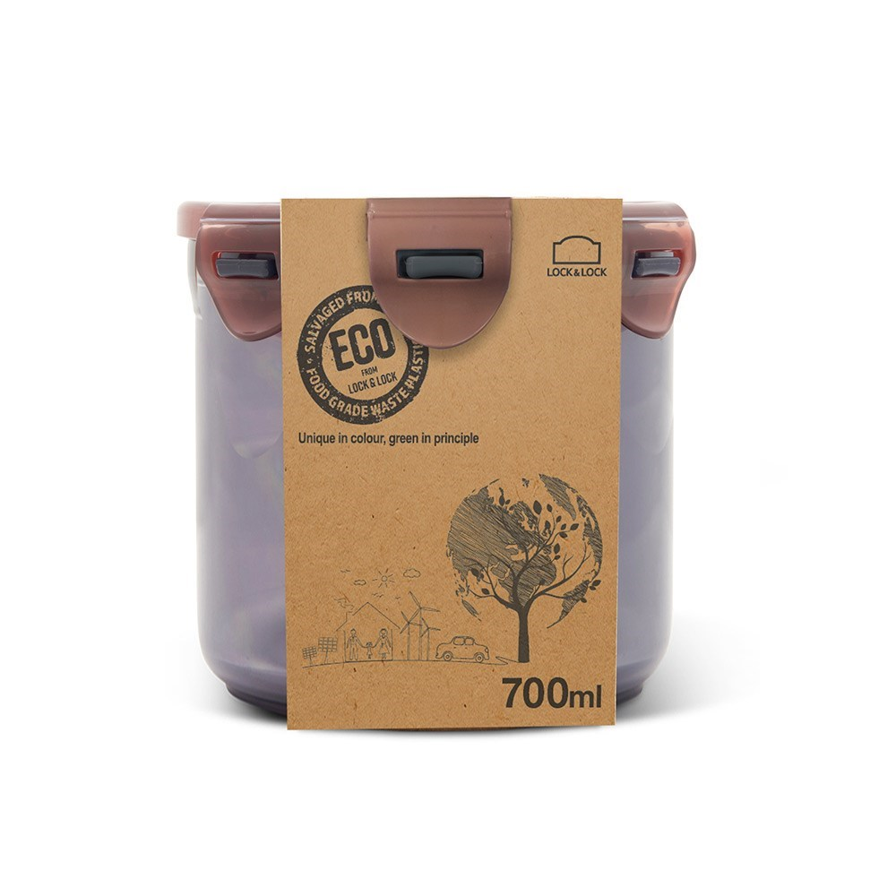 Lock & Lock Eco Tall Round Food Container 700ml