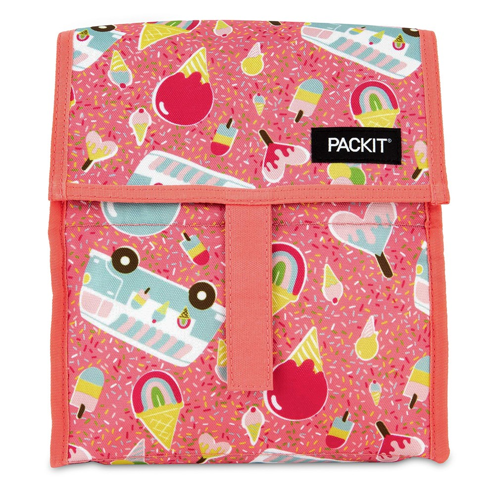 Packit Freezable Lunch Bag Ice Cream Social