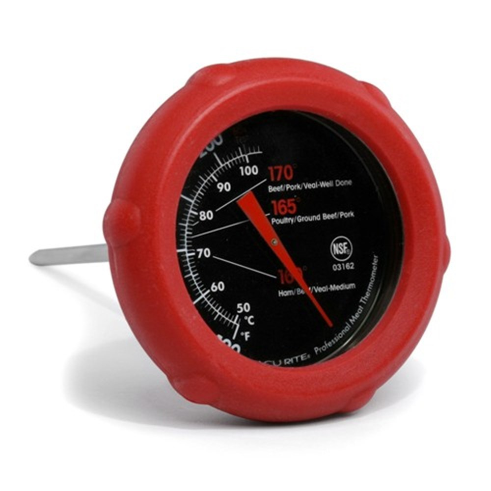 D.Line Acu-Rite Silicone Dial Meat Thermometer