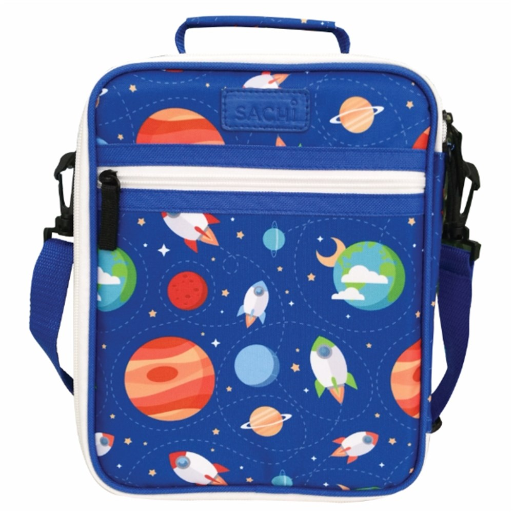 Sachi Insulated Kids Lunch Tote Outer Space