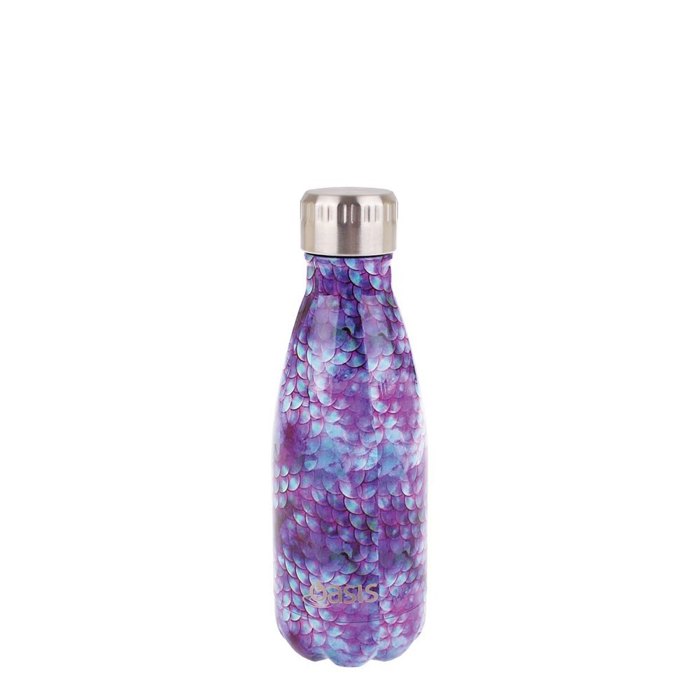 Oasis Insulated Stainless Steel Water Bottle 350ml Dragon Scales