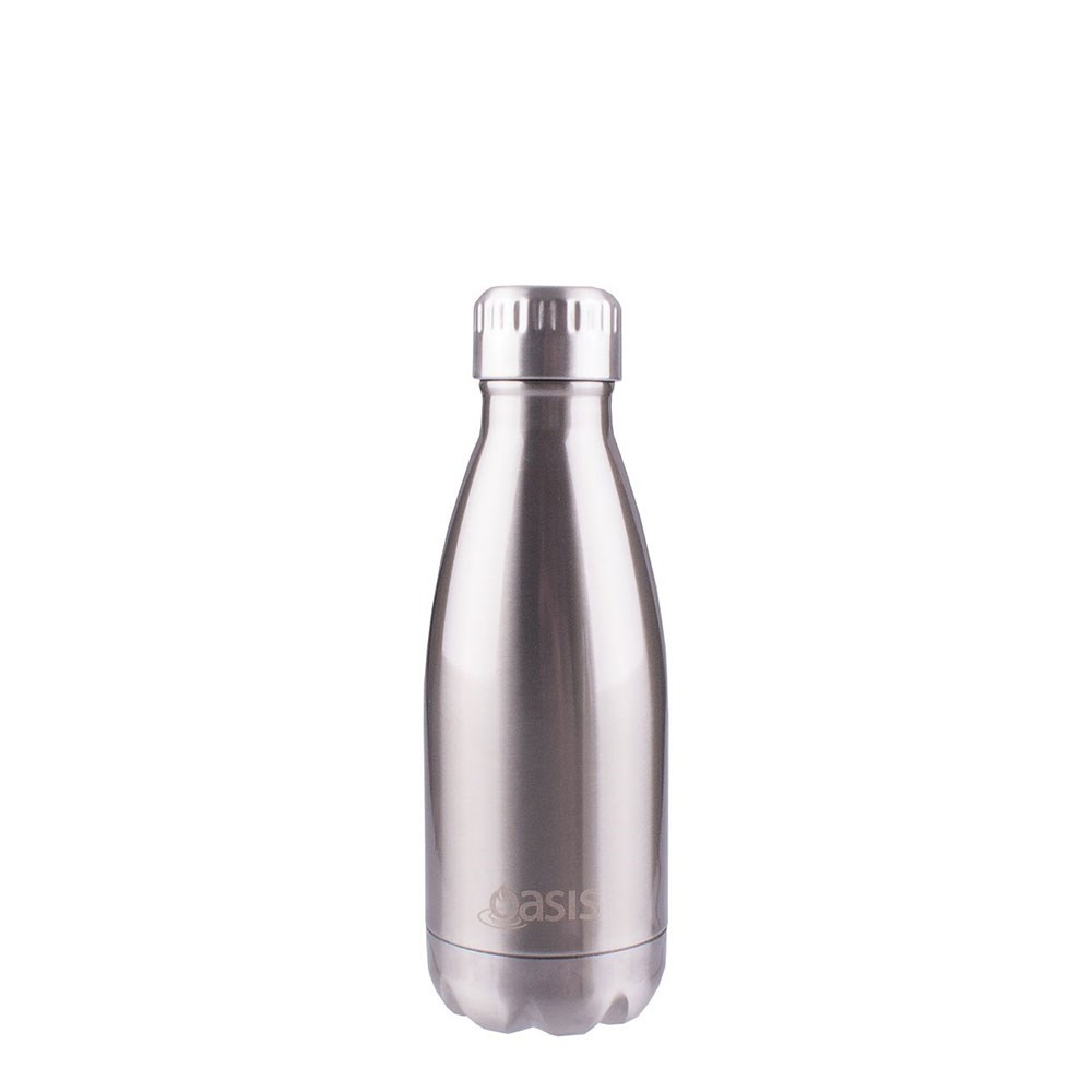 Oasis Insulated Stainless Steel Water Bottle 350ml Silver