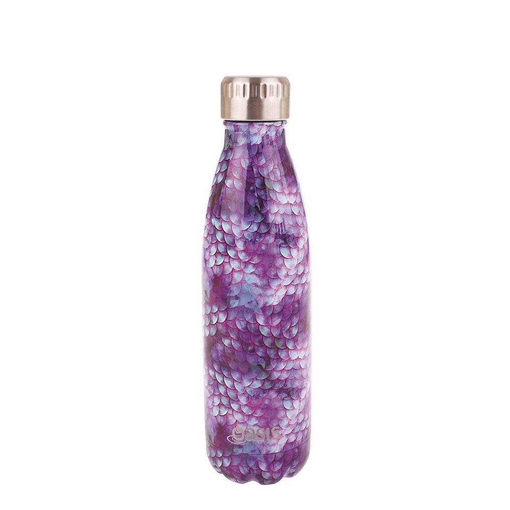 Oasis Insulated Stainless Steel Water Bottle 500ml Dragon Scales