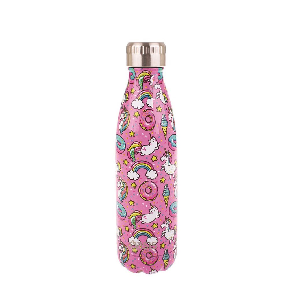 Oasis Insulated Stainless Steel Water Bottle 500ml Unicorn