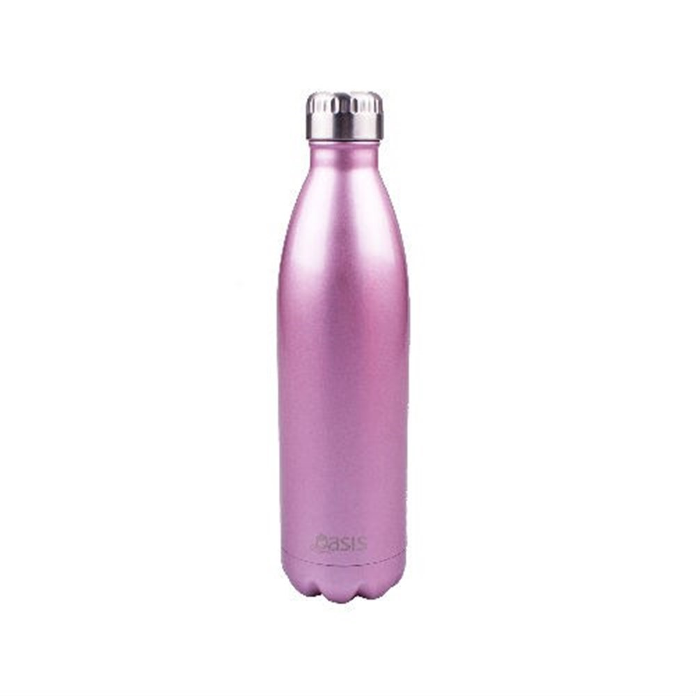 D.Line Oasis Insulated Stainless Steel Water Bottle 500ml Blush