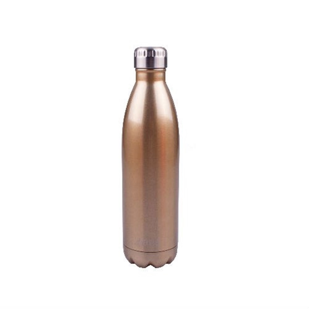 D.Line Oasis Insulated Stainless Steel Water Bottle 500ml Champagne
