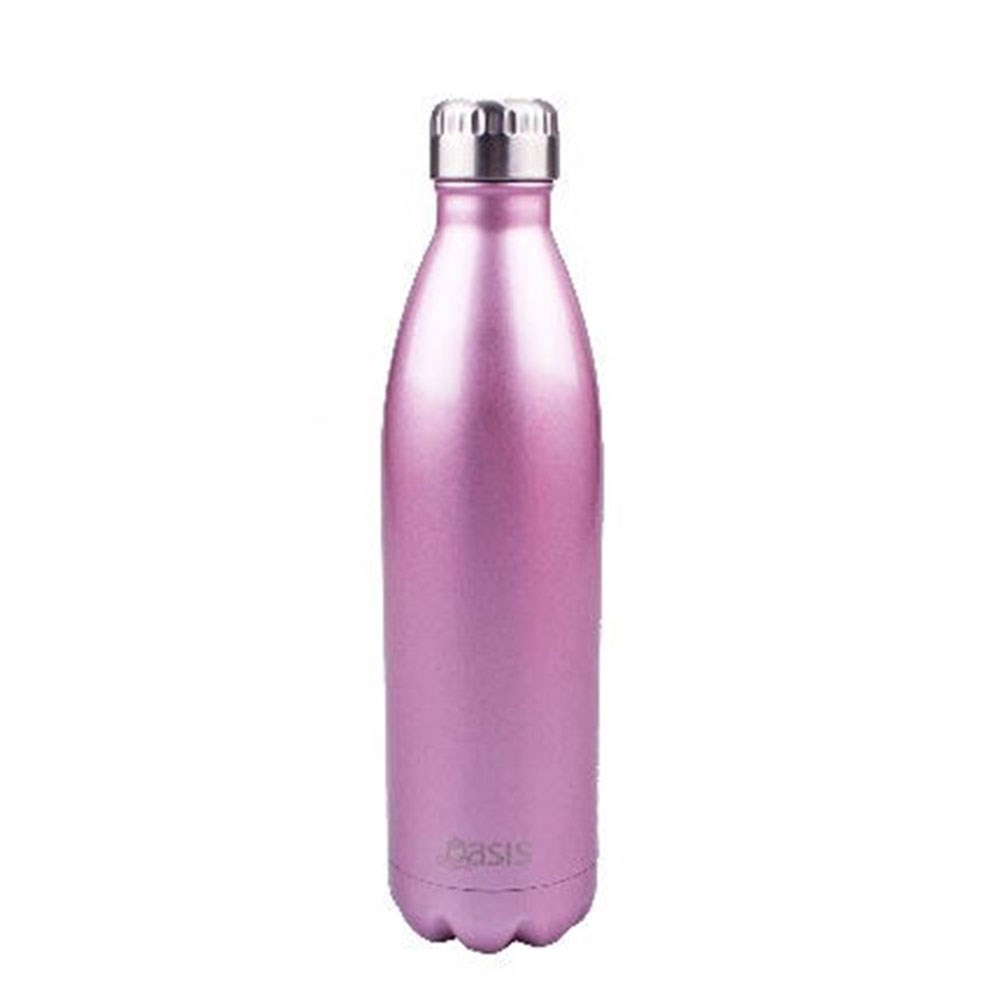D.Line Oasis Insulated Stainless Steel Water Bottle 750ml Blush