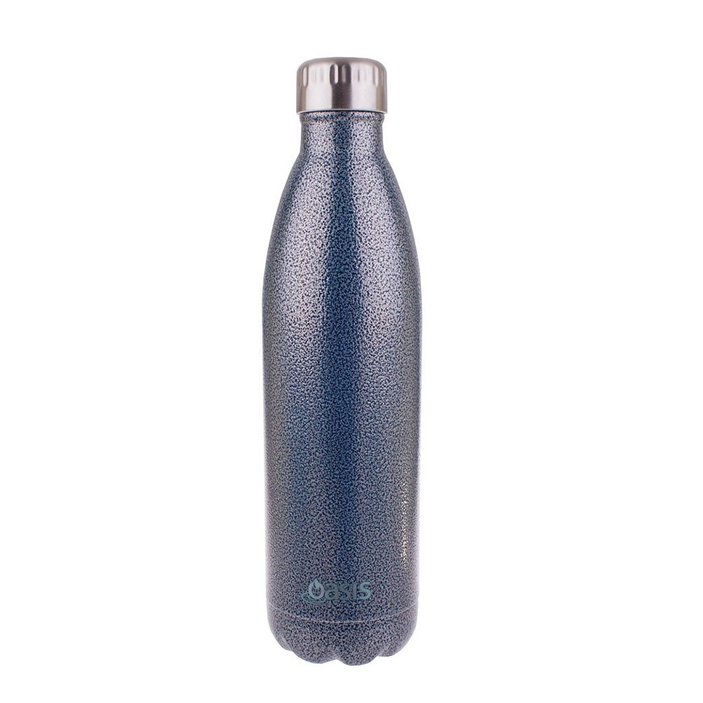 Oasis Insulated Stainless Steel Water Bottle 750ml Hammertone Blue