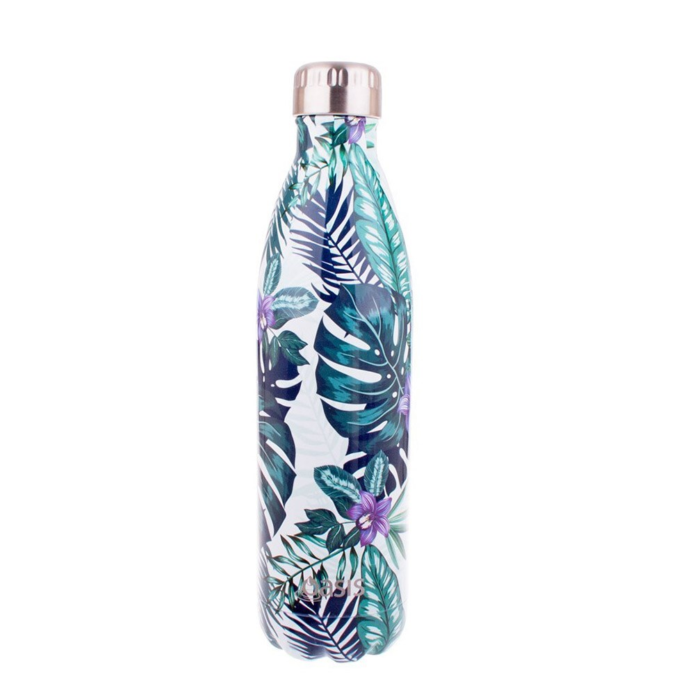 Oasis Insulated Water Bottle 750ml Tropical Paradise