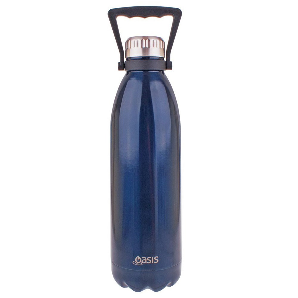 Oasis Insulated Water Bottle 1.5L Navy