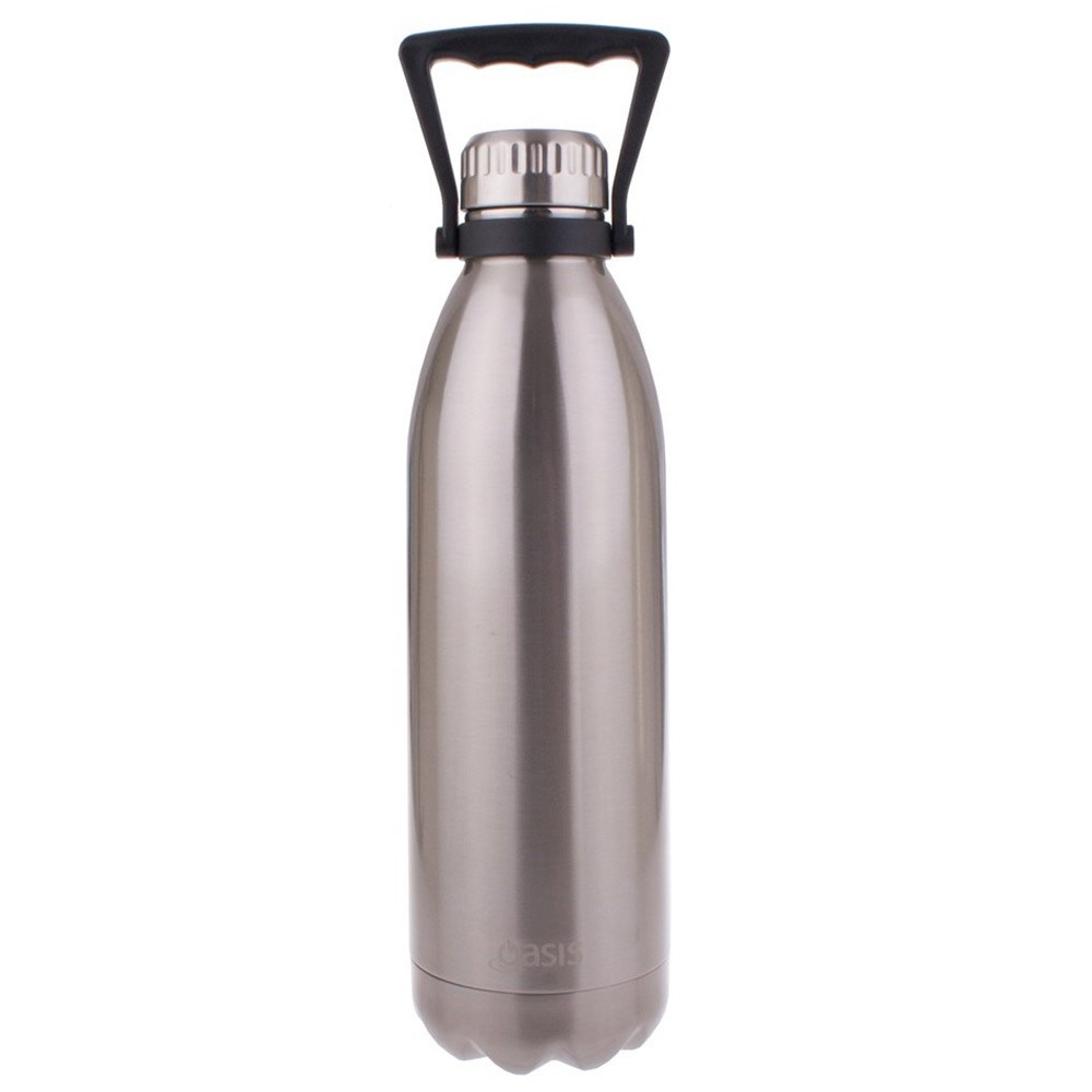 Oasis Insulated Water Bottle 1.5L Silver