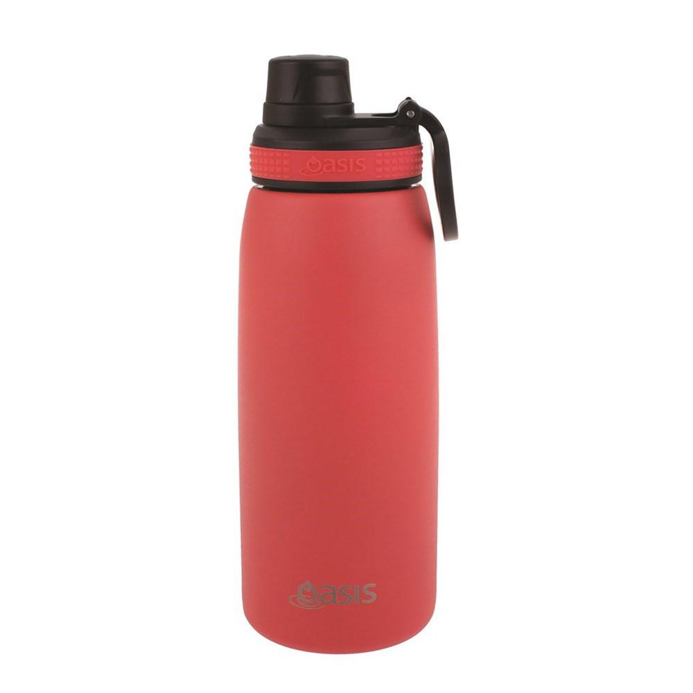 Oasis Insulated Sports Water Bottle 780ml Coral