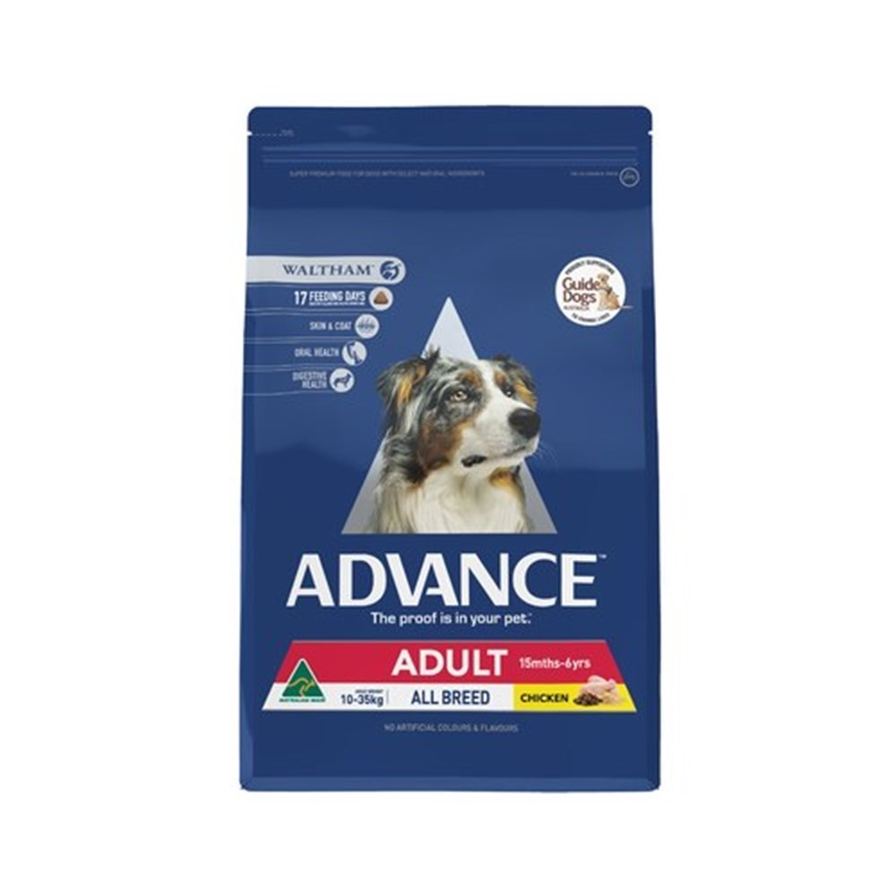 Advance All Breed Adult Dog Food 15kg Chicken