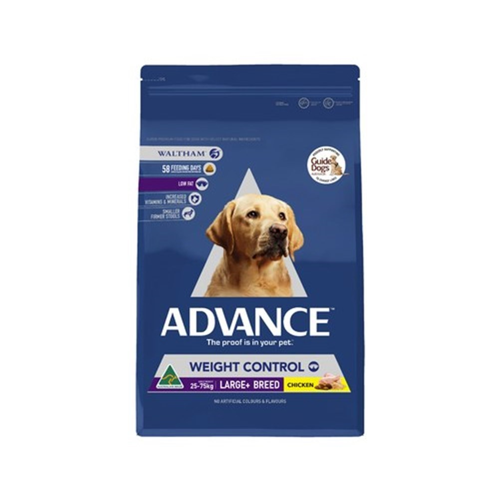 Advance Weight Control Large Breed Dog Food 13kg Chicken