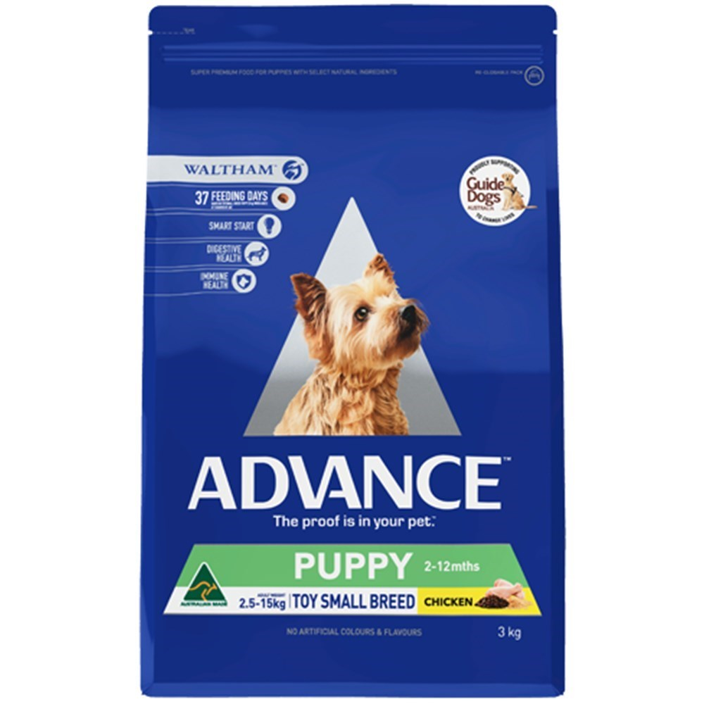 Advance Rehydratable Puppy Plus Toy & Small Breed Chicken 3kg