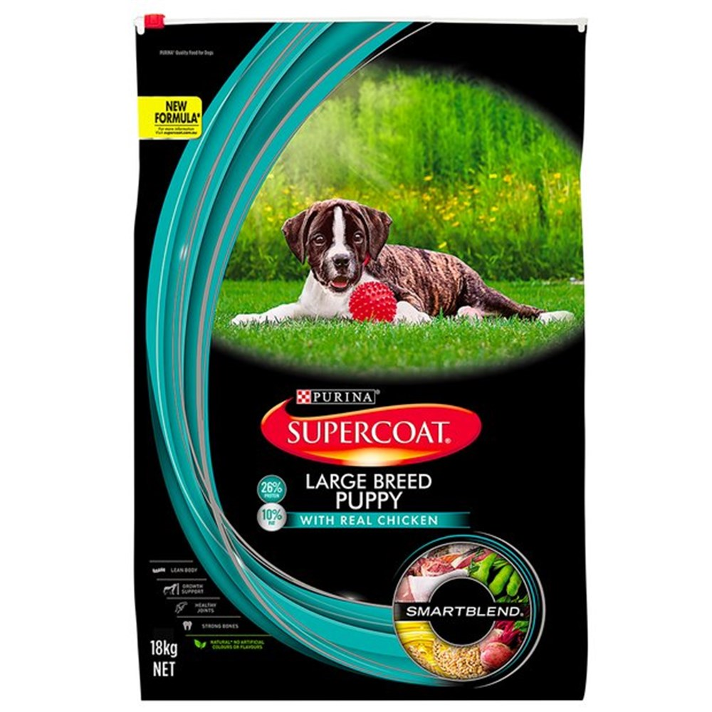 Supercoat Puppy Large Breed Chicken 18kg