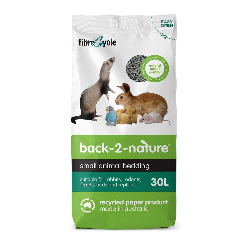 Back 2 Nature Small Animal Litter 30L