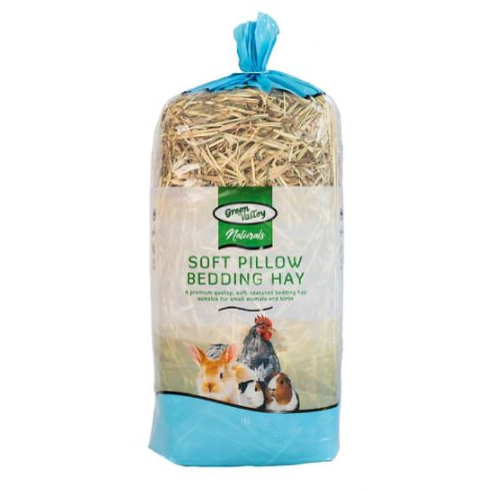 Green Valley Naturals Small Animal Soft Pillow Bedding Hay 11 Litre