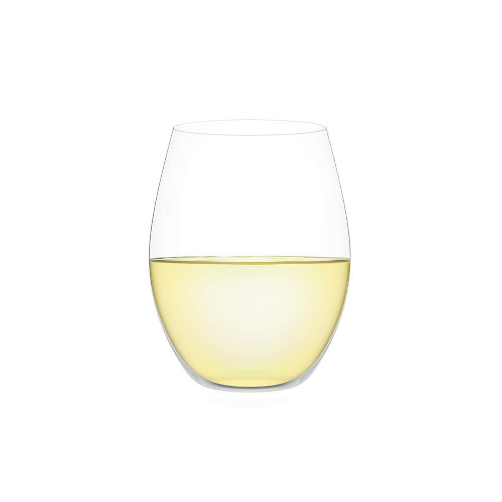 Plumm Outdoors Stemless White+ Wine Glass
