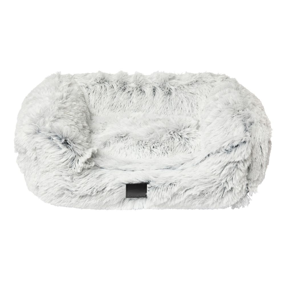 FuzzYard Nordic Ice Plush Dog Bed Large