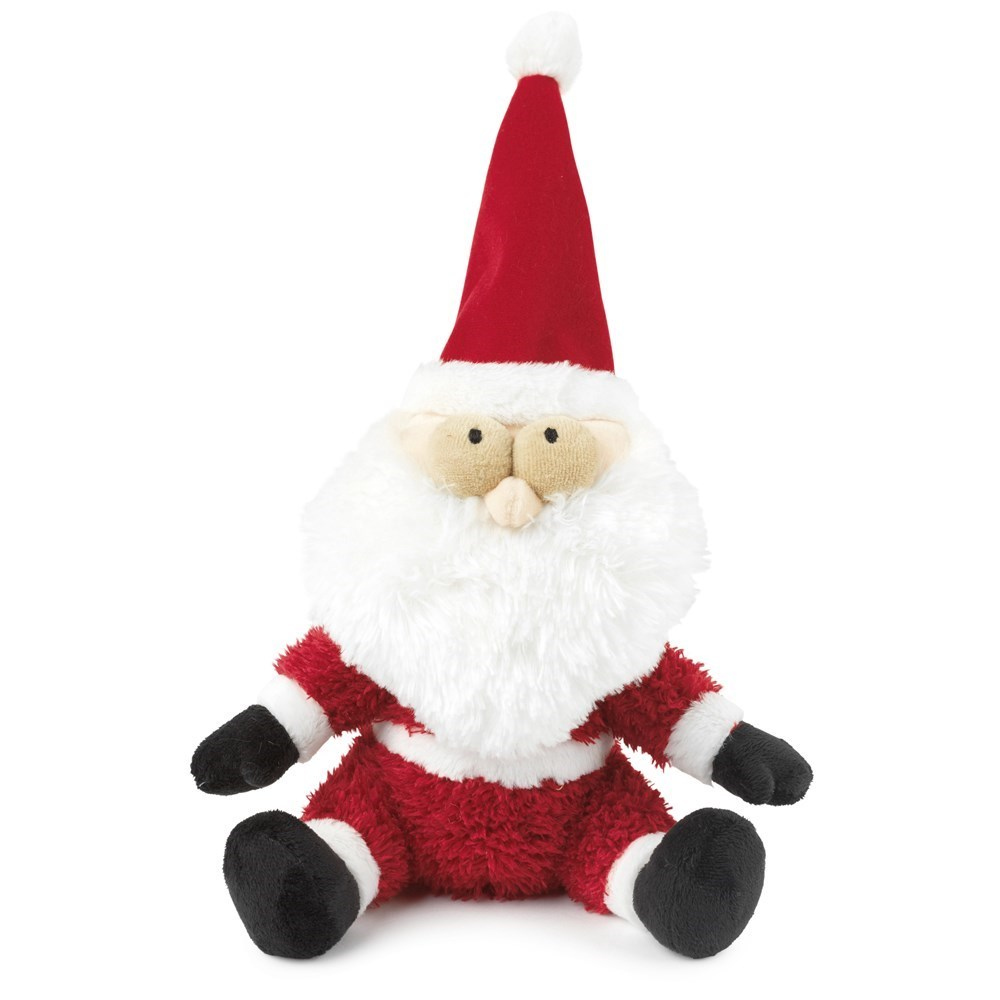 FuzzYard Christmas Fat Santa Dog Toy