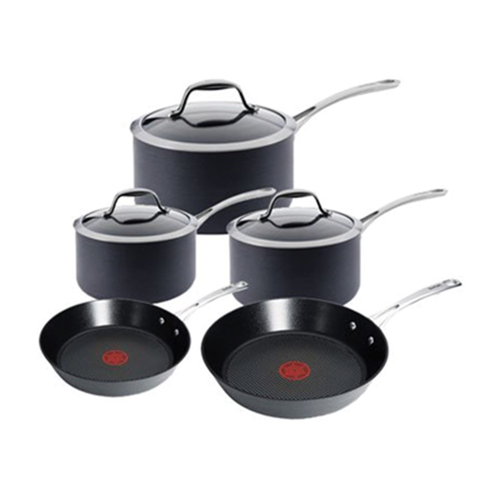 Tefal Gourmet Anodised 5 Piece Cookware Set