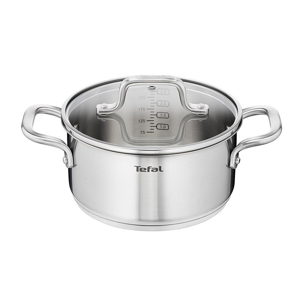 Tefal Virtuoso Induction Stainless Steel Stewpot 20cm 3.1L