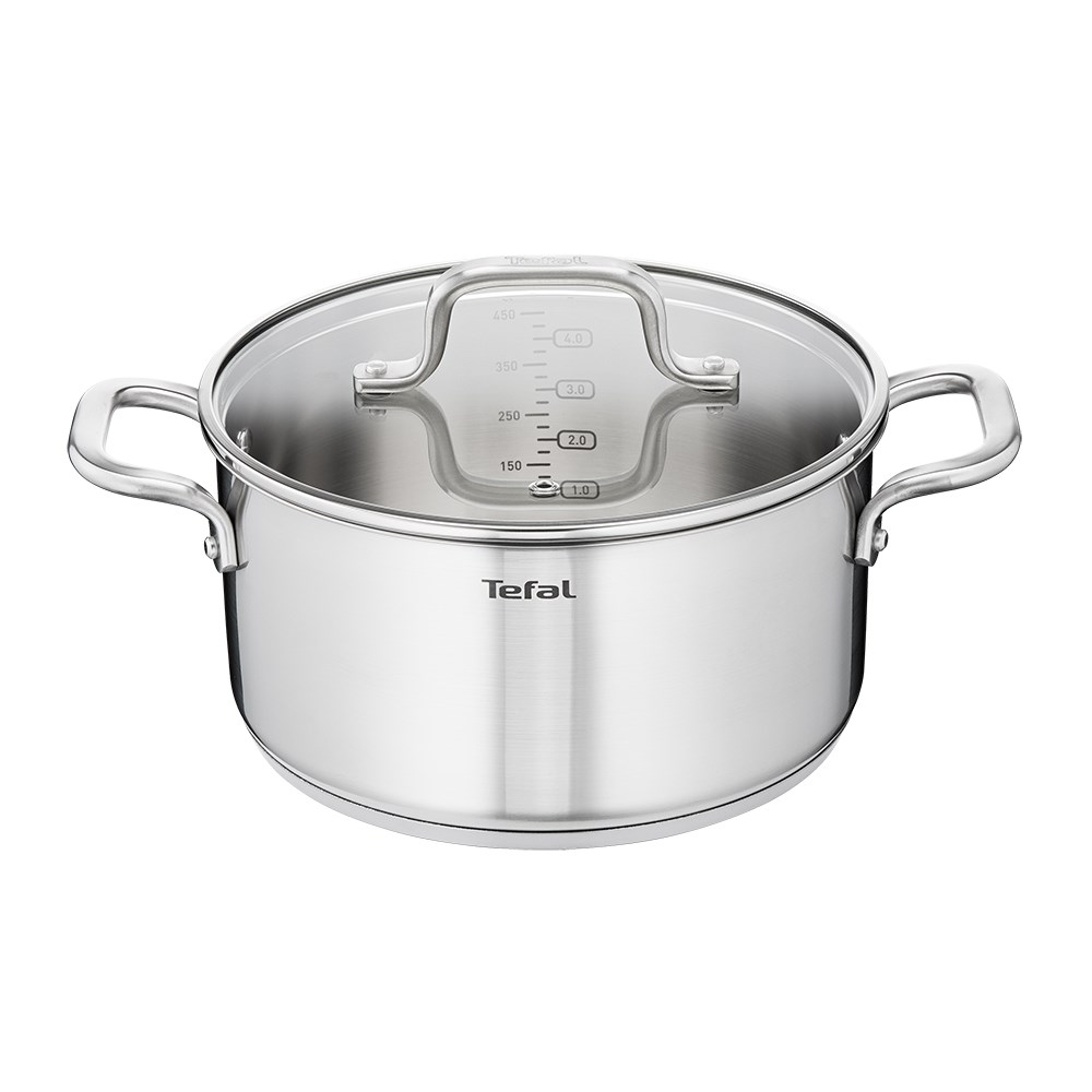Tefal Virtuoso Induction Stainless Steel Stewpot 24cm 4.7L