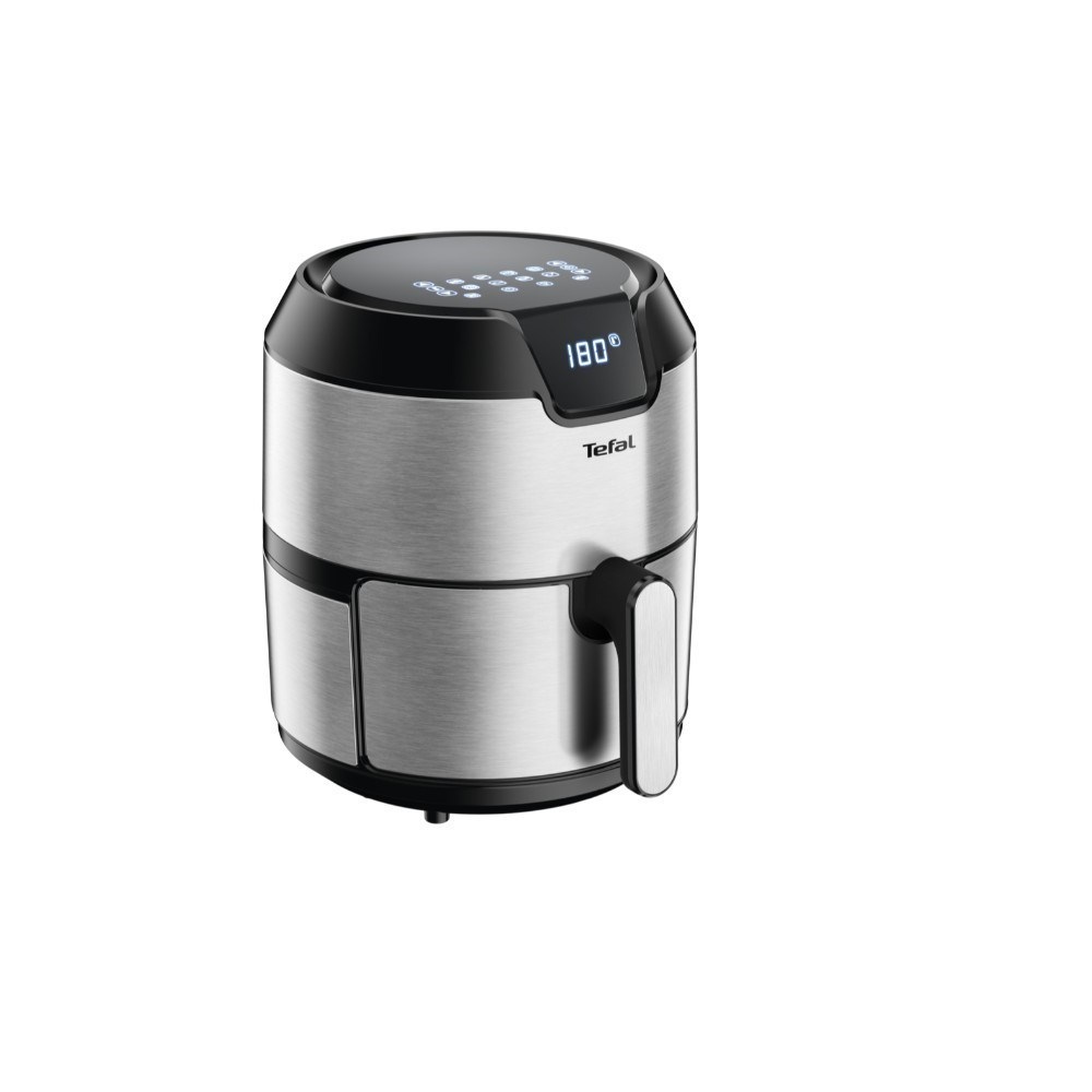 Tefal Easy Fry Deluxe Digital Air Fryer 4.2L Brushed Stainless Steel
