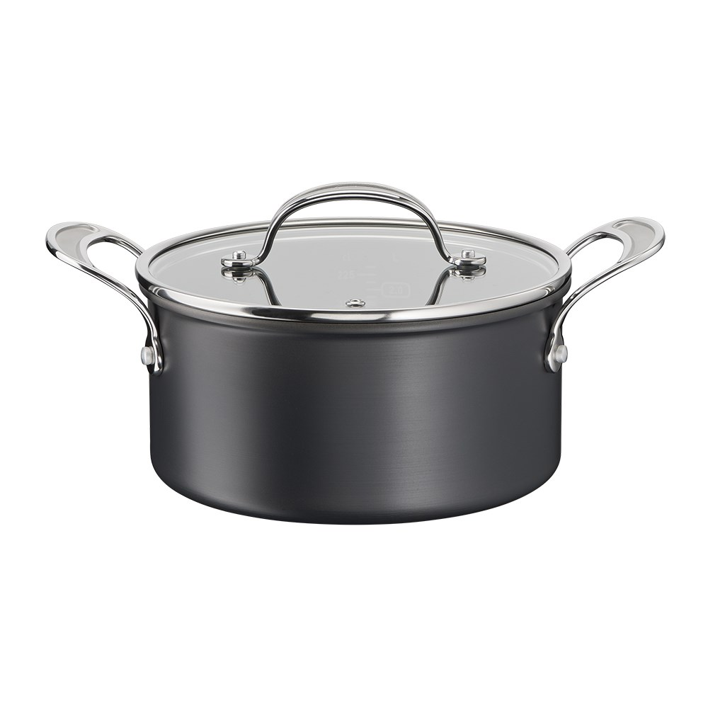 Jamie Oliver by Tefal Cooks Classic Induction Non Stick Hard Anodised Stewpot 24cm 5.4L